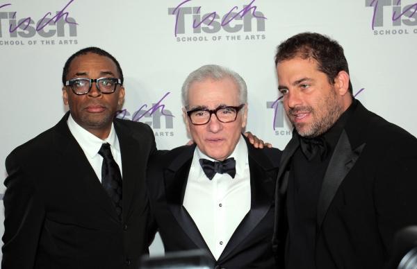 Spike Lee, Martin Scorsese, Brett Ratner at Martin Scorsese, Alec Baldwin et al. Celebrate at NYU's Tisch Gala