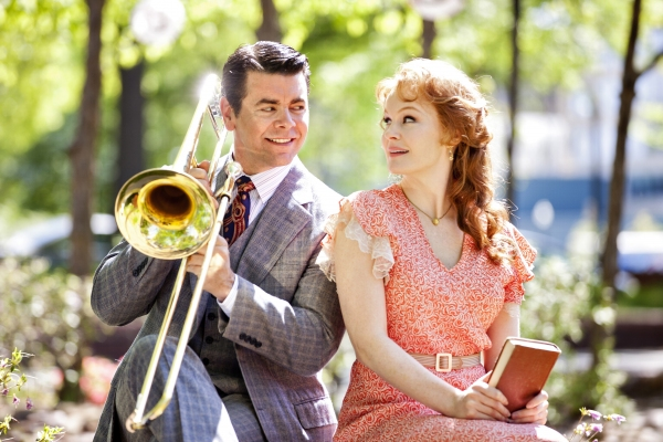Photo Flash: Kate Baldwin, Burke Moses in Arena Stage's THE MUSIC MAN!