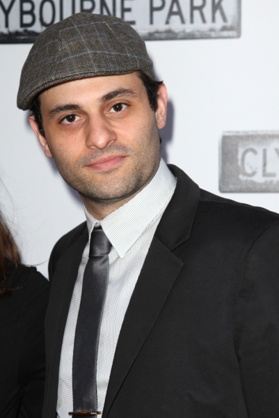 Arian Moayed  at CLYBOURNE PARK Theatre Arrivals - Edie Falco, Elaine Stritch & More!