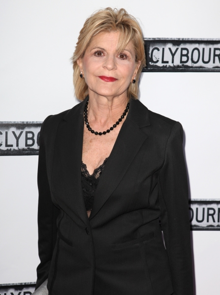 Concetta Tomei  at CLYBOURNE PARK Theatre Arrivals - Edie Falco, Elaine Stritch & More!