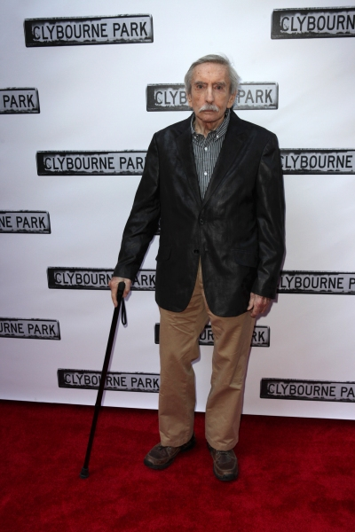 Edward Albee  at CLYBOURNE PARK Theatre Arrivals - Edie Falco, Elaine Stritch & More!
