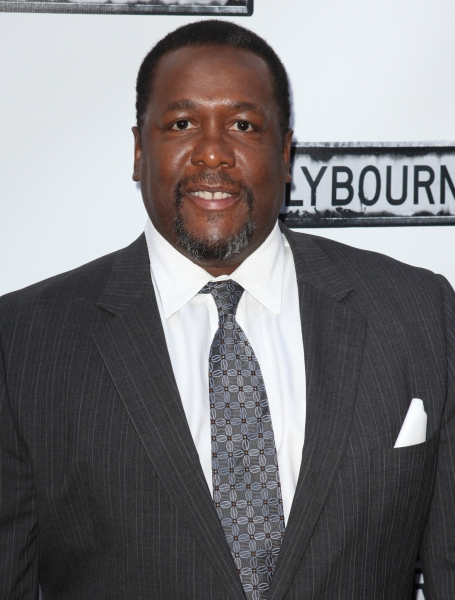 Wendell Pierce  at CLYBOURNE PARK Theatre Arrivals - Edie Falco, Elaine Stritch & More!