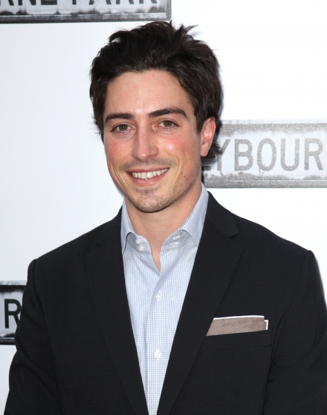Ben Feldman at CLYBOURNE PARK Theatre Arrivals - Edie Falco, Elaine Stritch & More!