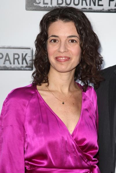 Quiara Alegria Hudes  at CLYBOURNE PARK Theatre Arrivals - Edie Falco, Elaine Stritch & More!