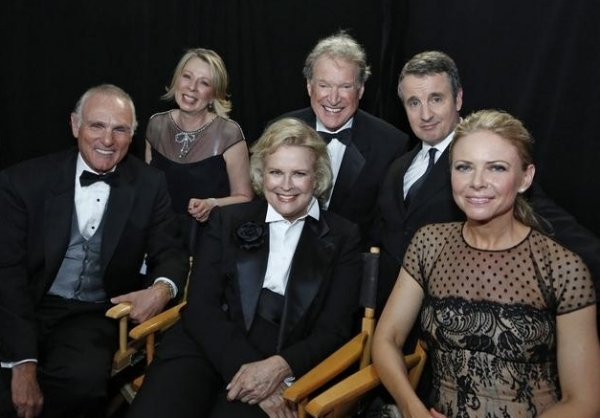 Joe Regalbuto, Diane English, Candice Bergen, Charles Kimbrough, Grant Shaud & Faith Ford