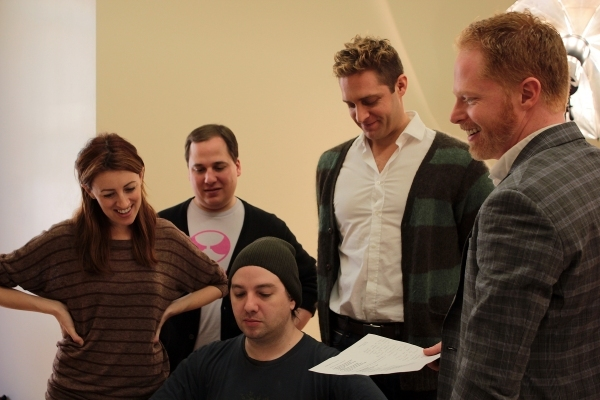 Kate Wetherhead, Jared Gertner, Neal Hunter Hyde, Colin Hanlon, Jesse Tyler Ferguson. Photo