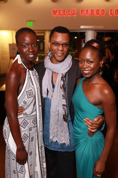 Danai Gurira, Kevin Mambo and Zainab Jah
