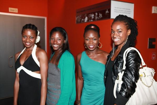 Pascale Armand, Rutina Wesley, Zainab Jah and Kristolyn Lloyd