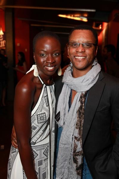 Danai Gurira and Kevin Mambo