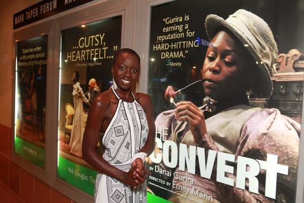 Danai Gurira at Opening Night Arrivals at Kirk Douglas Theatre's THE CONVERT