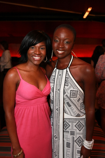 Edwina Findley and Danai Gurira
