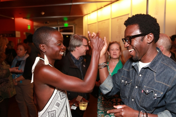 Danai Gurira and Tony Okungbowa