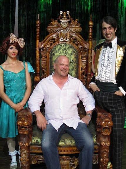 Photo Flash: PAWN STARS' Rick Harrison Visits ABSINTHE in Las Vegas