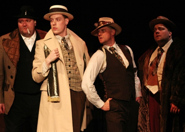 Photo Flash: History Theatre's CAPITAL CRIMES: THE ST. PAUL GANGSTER MUSICAL, Now thru 5/20
