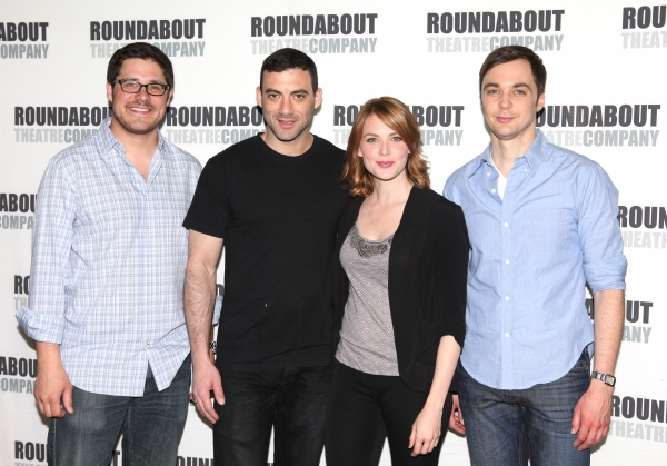 Photo Coverage: Cast of HARVEY Meets the Press!