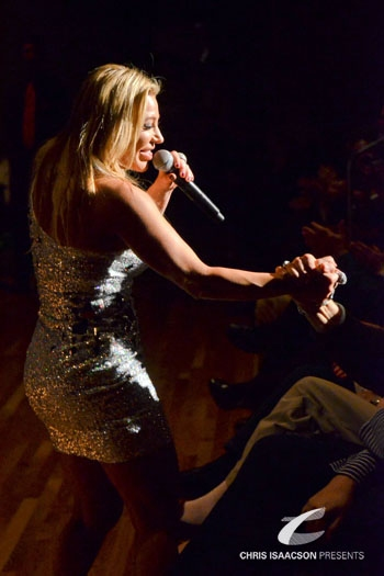 Taylor Dayne at Pop Star TAYLOR DAYNE Shares All in 'Tell It To My Heart'