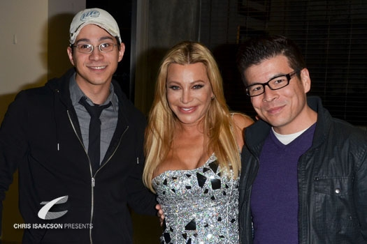 Rich Andrew, Taylor Dayne, and Jason Bowers