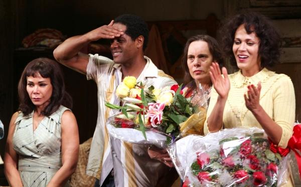 Daphne Rubin-Vega, Blair Underwood, Director Emily Mann, Nicole Ari Parker