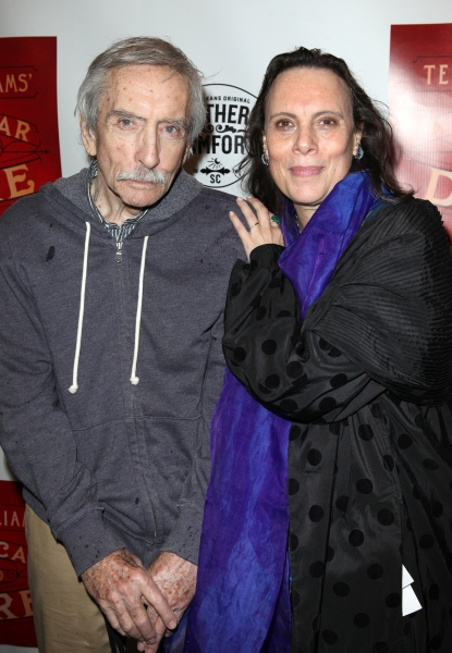 Edward Albee & Emily Mann  at A STREETCAR NAMED DESIRE- the Starry Opening Night Theatre Arrivals!