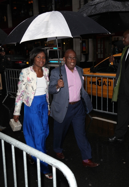 Al Roker & Deborah Roberts at A STREETCAR NAMED DESIRE- the Starry Opening Night Theatre Arrivals!