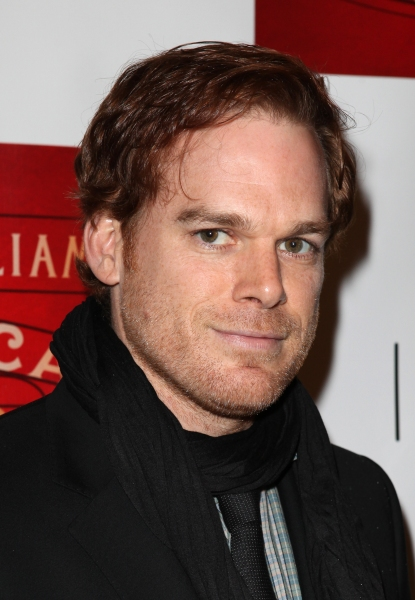 Michael C. Hall  at A STREETCAR NAMED DESIRE- the Starry Opening Night Theatre Arrivals!