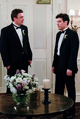 Jason Segel, Josh Radnor at Sneak Peek - Barney Meets His Bride on Season Finale of HOW I MET YOUR MOTHER, 5/14