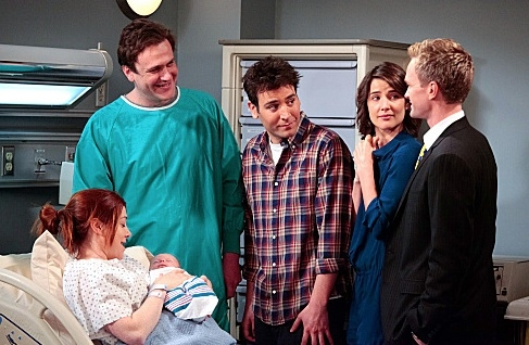 Alyson Hannigan, Jason Segel, Josh Radnor, Cobie Smulders & Neil Patrick Harris at Sneak Peek - Barney Meets His Bride on Season Finale of HOW I MET YOUR MOTHER, 5/14