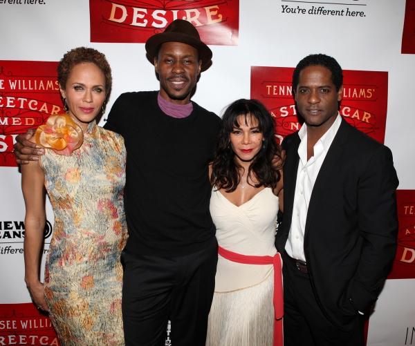 Nicole Ari Parker, Wood Harris, Daphne Rubin-Vega and Blair Underwood Photo