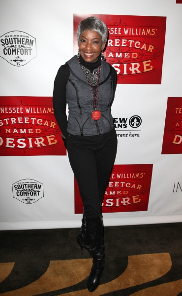 Adriane Lenox at Blair Underwood, Nicole Ari Parker et al. at A STREETCAR NAMED DESIRE's After Party!