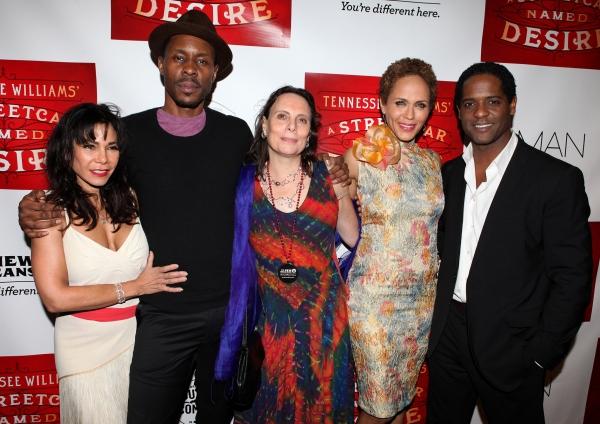 Daphne Rubin-Vega, Wood Harris, Emily Mann, Nicole Ari Parker and Blair Underwood Photo