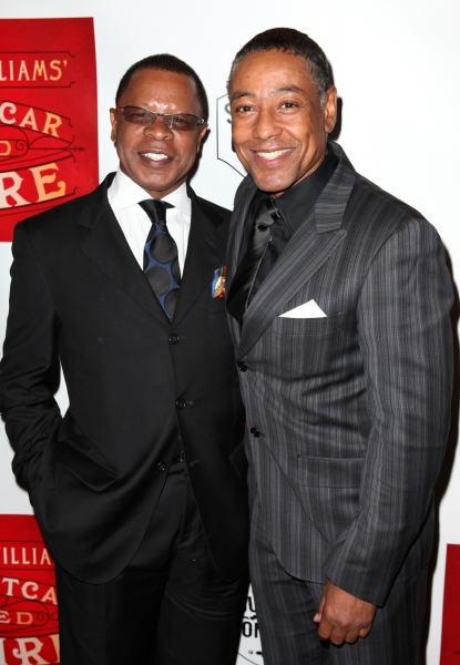 Stephen Byrd and Giancarlo Esposito Photo