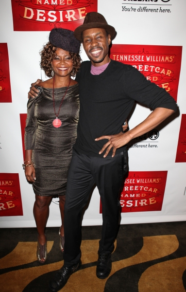 Tonya Pinkins and Wood Harris