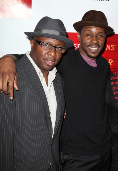 Steve Harris and Wood Harris