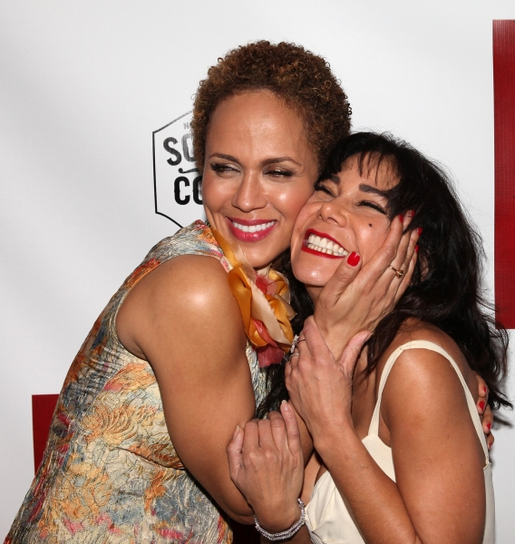Nicole Ari Parker and Daphne Rubin-Vega