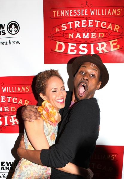 Nicole Ari Parker & Wood Harris