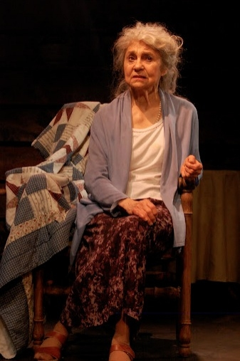 Lynn Cohen at Lynn Cohen et al. in Barefoot Theatre Company's EAVESDROPPING ON DREAMS
