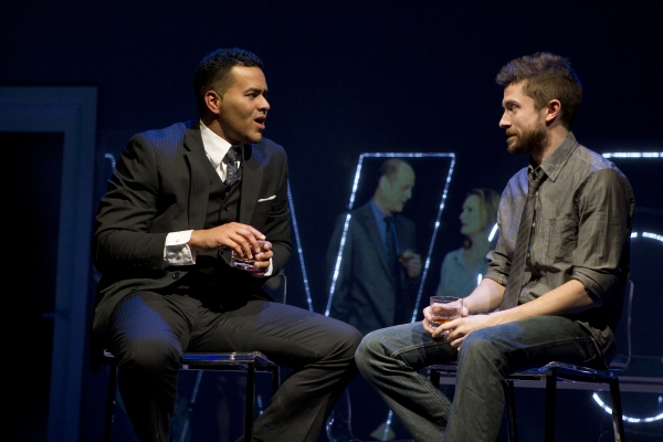 Photo Flash: First Look at Topher Grace, Olivia Thirlby in Second Stage's LONELY, I'M NOT