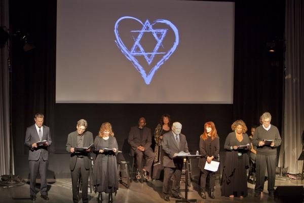 Mitzvah Celebrity Reading cast Consul General of Israel, David Siegel, Alan Rosenberg Photo