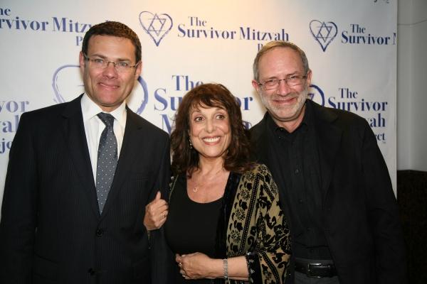 Photo Flash: Survivor Mitzvah Project Celebrities Raise Thousands for Holocaust Survivors