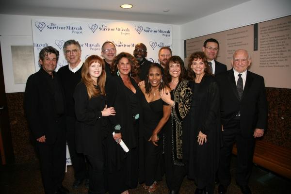 Mitzvah Cast at after party - Lft to Rht: Alan Rosenberg, Elliott Gould, Frances Fish Photo