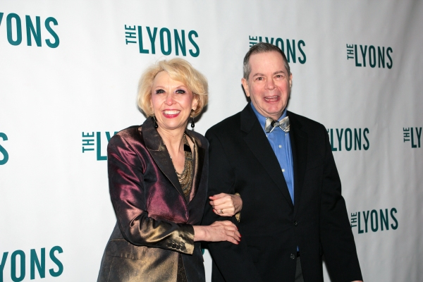 Julie Halston, Peter Bartlett at THE LYONS- Opening Night Theatre Arrivals!