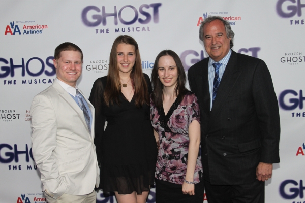 Alex Washer, Leah Lane, Alyssa Renzi and Stewart F. Lane at GHOST THE MUSICAL - Opening Night Party!