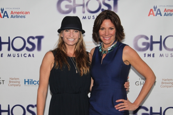 Heather Thomson and Luann de Lesseps