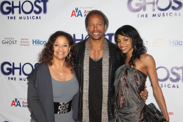 Debbie Allen, Gary Dourdan and Vivian Nixon at GHOST THE MUSICAL - Opening Night Party!
