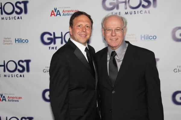 David Garfinkle and Bruce Joel Rubin at GHOST THE MUSICAL - Opening Night Party!