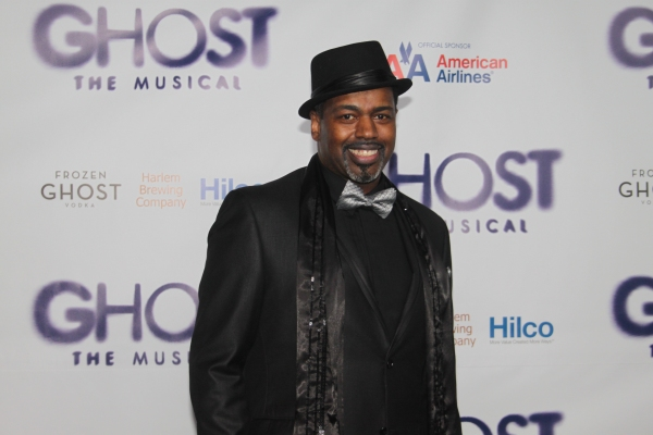 Lance Roberts at GHOST THE MUSICAL - Opening Night Party!