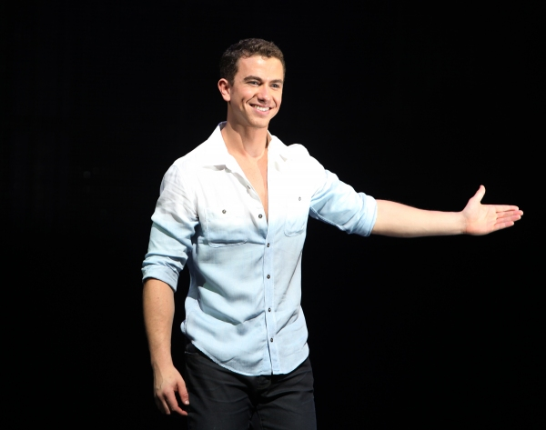 Paul Fleeshman during the Broadway Opening Night Performance Curtain Call for  'GHOST' a the Lunt-Fontanne Theater on 4/23/2012 in New York City.