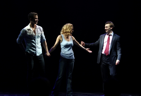Paul Fleeshman, Caissie Levy & Bryce Pickham