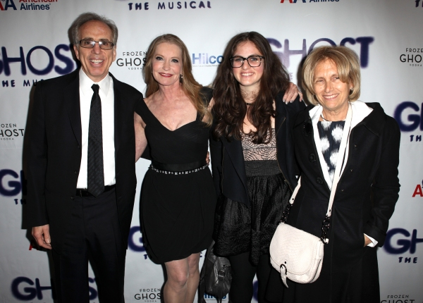 Jerry Zucker & family with Lisa Niemi
