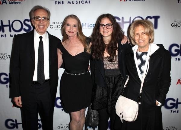 Jerry Zucker & family with Lisa Niemi